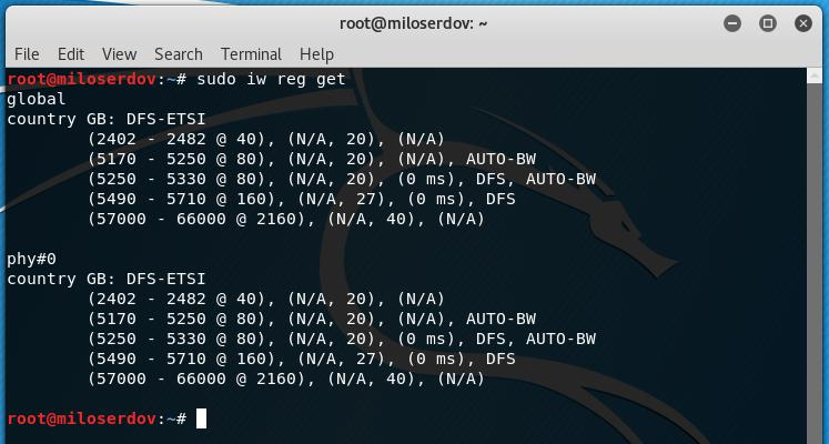 install awus036h driver kali linux