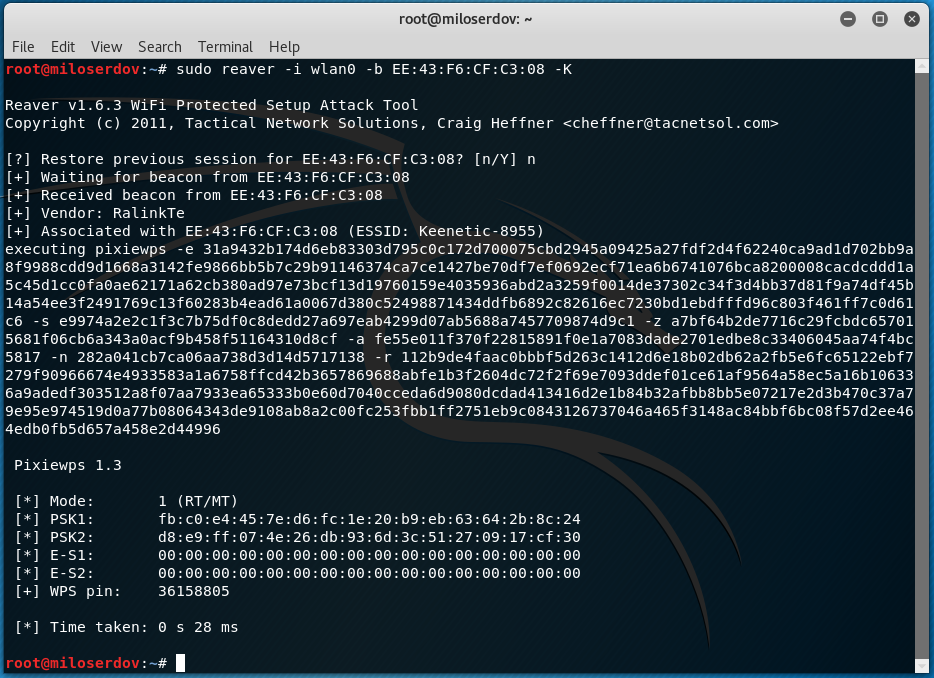 How to hack Wi-Fi using Reaver - Ethical hacking and