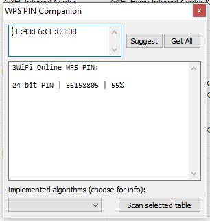 wps pin for windows 7