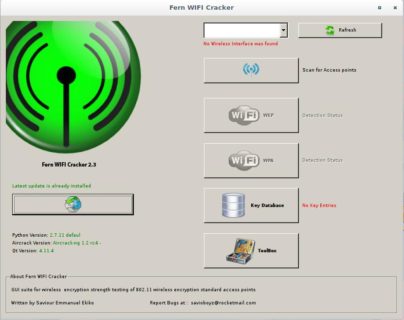 Programs for hacking Wi-Fi - Ethical hacking and penetration