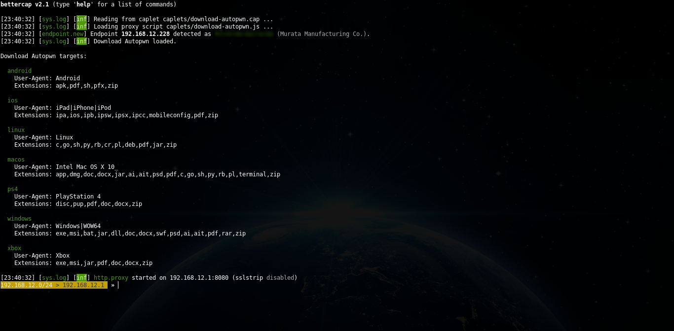 bettercap 2 x: how to install and use in Kali Linux