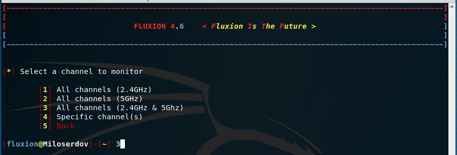 Fluxion 4 Usage Guide - Ethical hacking and penetration testing