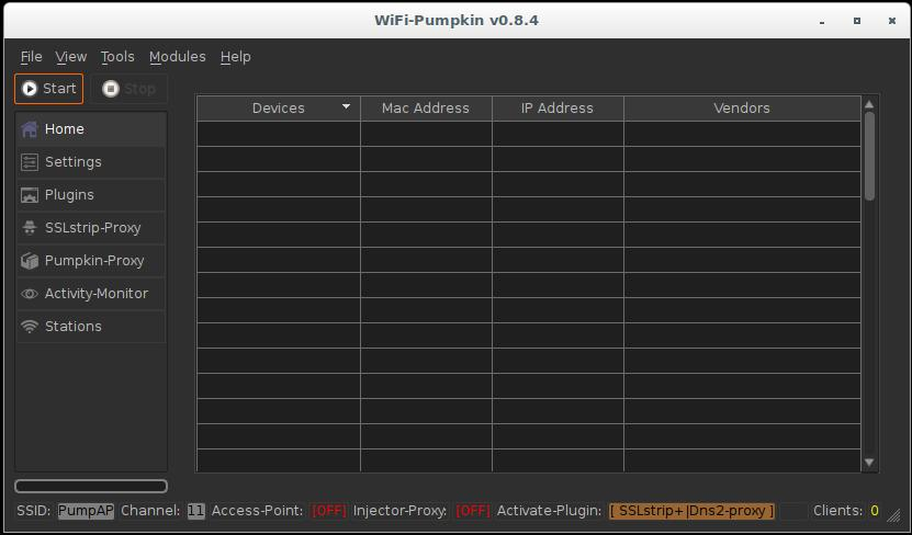 WiFi-Pumpkin: Rogue Wi-Fi Access Point Attack with GUI and