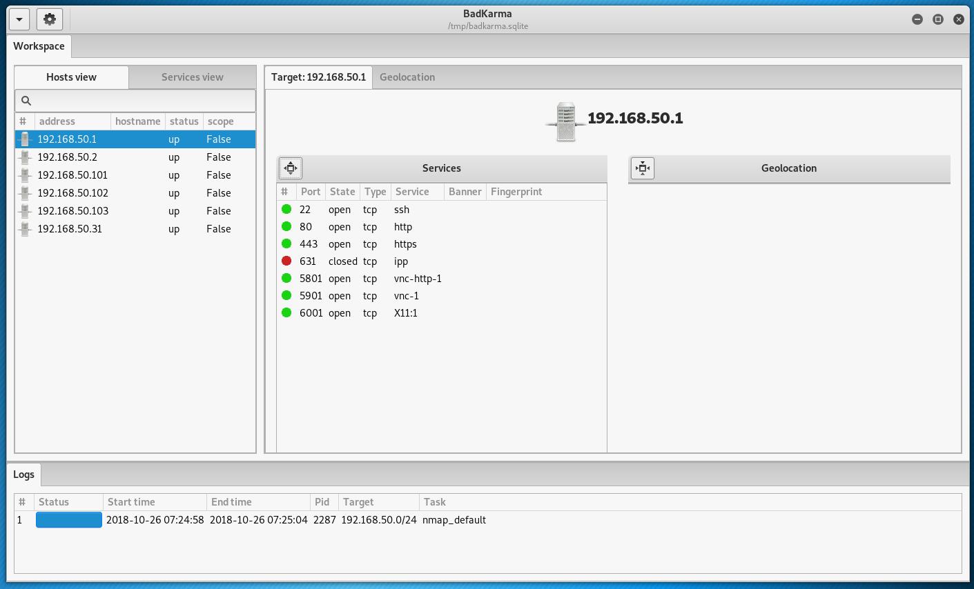 badKarma: Advanced Network Reconnaissance Assistant