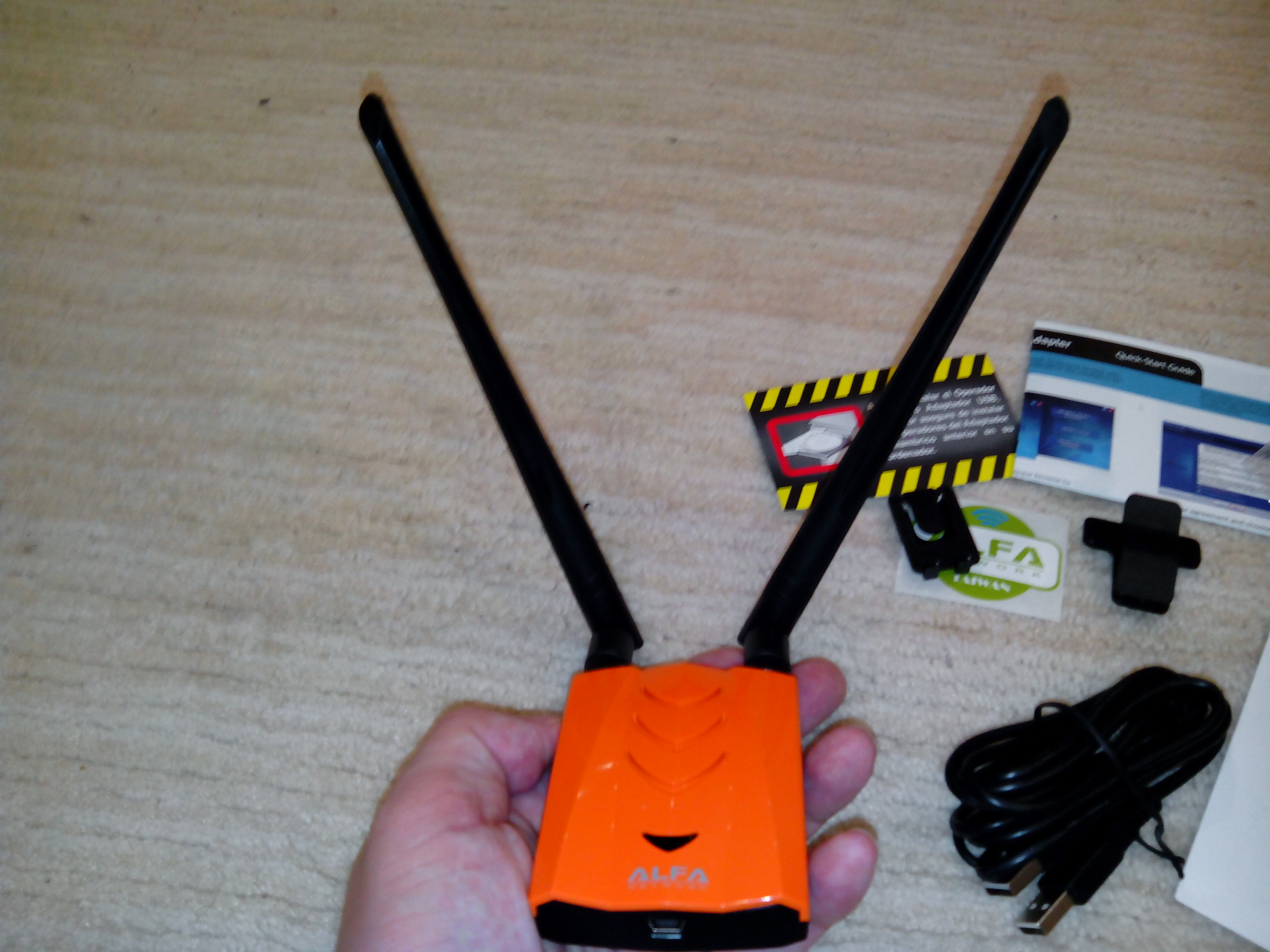 USB Wi-Fi Adapters with monitor mode and wireless injection (100