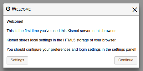 New Kismet version - Ethical hacking and penetration testing