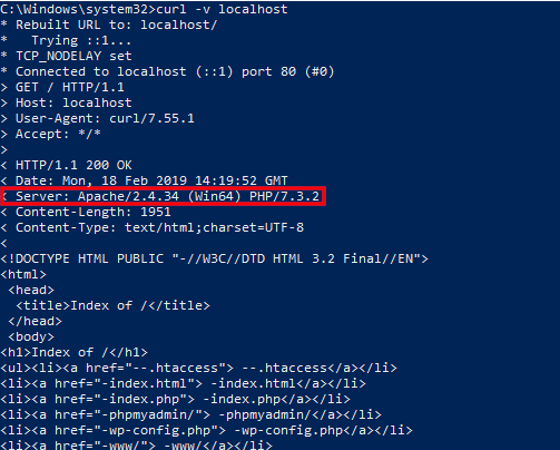 How to protect the Apache web server from hacking in Windows
